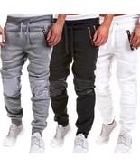 Men Casual Sweatpants Jogger Dance Sportwear Baggy Harem Slacks Trousers Pants H - $33.66