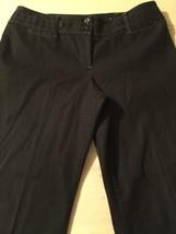 Ann Taylor Loft Women's Pants Petites Black Casual Stretch Pants Size 10... - $42.37