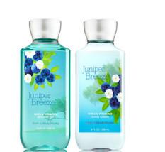 Bath & Body Works Juniper Breeze Body Lotion + Shower Gel Duo Set - $26.41