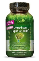 Women's Living Green Multi Vitamin by Irwin Naturals, with Key Nutrients... - $29.37
