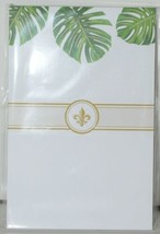 Faux Designs GP113 Tropical Leaf Gift Notepad 50 Tear off Sheets image 1