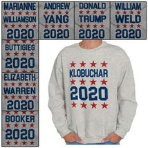 Star Spangled USA Presidential Vote For 2020 Crewneck Sweat Shirts Sweat... - $18.99+