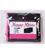 Mommy Mitten Stroller Hand Warmer Handlebar Cover Fleece Lined Black Hot... - $15.83