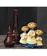 Strawberry Decanters and Figurine AA20-7179 Vintagerr - $59.95