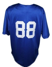 Custom Name # Crooklyn Baseball Jersey Button Down Blue Any Size image 2