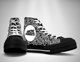 Arctic Monkeys Canvas Sneakers Shoes - $49.99