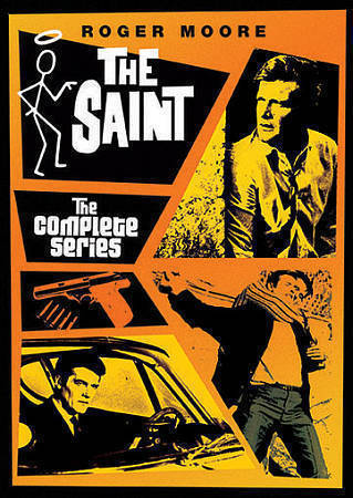 The Saint The Complete Series DVD 33-Disc Box Set [New] Roger Moore TV Show