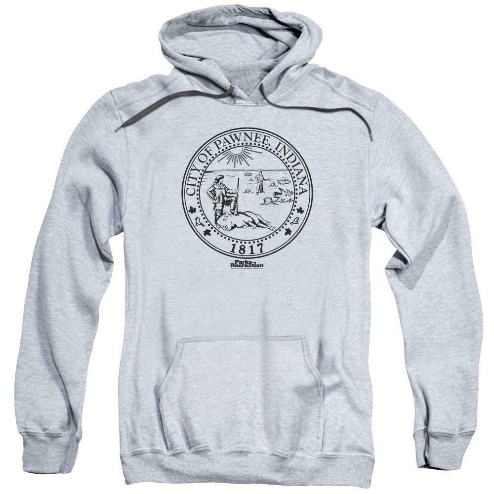 City of Pawnee, Indiana 1817 t-shirt Parks and Recreation graphic hoodie NBC348
