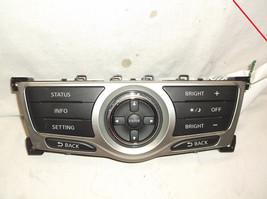 2009..09 Nissan Murano INFORMATION/SETTINGS/STATUS/LIGHTS Control Panel - $37.87