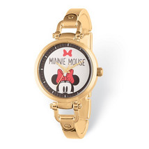 Disney Adult Size Minnie Mouse Gold-tone Watch - $55.00