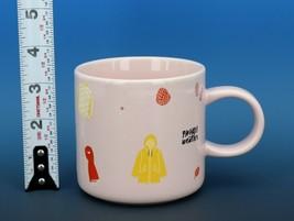 Collectible Starbucks Porcelain China Coffee Mug 2018 12oz Pink Bando