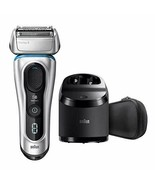 *NEW* BRAUN Series 8 8370cc Smart Precision Wet Dry Shaver With Cleaning... - $109.13