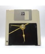 Black and White Floppy Disk Desk Clock - $15.00