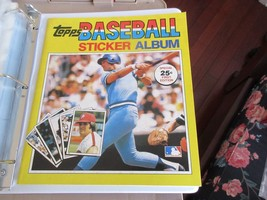 Topps Baseball Sticker Album , 1981 , Plus Lot Of 190 Stickers - $64.35