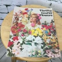 1977 Book Thrifty Crafty Flowers Graphic Enterprises Inc.Vtg Craft Book - $6.44