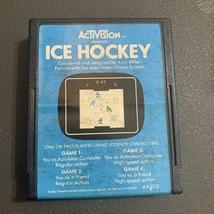ATARI 2600 Ice Hockey tested Activision video game cartridge sports retro gaming - $1.99