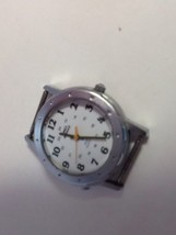 Timex Watch Bezel And SS Back For Parts, Water Resistant Quartz  - $18.69