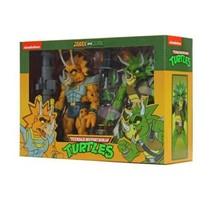 Neca Teenage Mutant Ninja Turtles Tmnt Zarax And Zork Triceraton Target Figures - $98.98