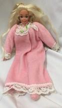 "1995 Pretty Dreams Barbie 18"" Soft Body Bedtime Friend - $10.69"