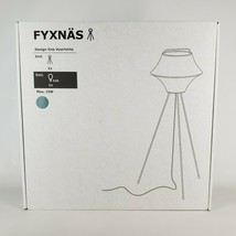 """Ikea FYXNÄS Tripod Floor lamp Fabric/Steel Turquoise 51"""" Fyxnas - $67.88"""