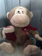 """Dan Dee Christmas Stuffed animal MONKEY~ ~ 14""""  - $14.84"""