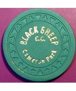 $2.50 Casino Chip. Black Sheep, Cameron Park, CA. V36. - $4.99