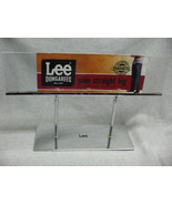 Chrome & Plastic Lee Lees Dungarees Jeans Retail  Store Display Sign Modern - $22.91