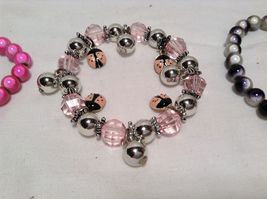 NEW Set of 3 Multicolored Beaded Bracelets  image 3
