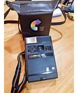 Vintage Kodak Colorburst 250 Instant Camera w/ Matching camera caddy UNT... - $14.84