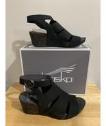 Dansko Sera Milled Nubuck Black Womens - $40.00