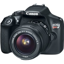 Canon 1159C008 EOS Rebel T6 Digital SLR Camera Kit with EF-S 18-55mm and... - $449.92