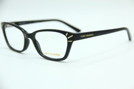 New Tory Burch Ty 4002 1377 Black Eyeglasses Authentic Frame Rx TY4002 52-16 - $79.42
