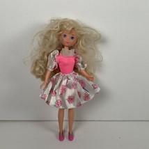 Vintage TCFC Peppermint Rose Doll W/Flower Skirt Bodysuit Top 1986 - $15.99