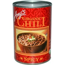 Amy's Organic Spicy Chili Bean 14.7 oz ( Pack of 6 ) - $39.59