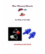 Silicone Nose Clip/Earplugs USA SELLER FAST DELIVERY - $3.95+