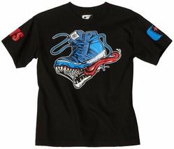 Berühmt Stars und Riemen Big Boys' Monster Schuhe Jungen Jugend T-Shirt Nwt