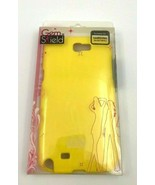 Gem Shield Suitable For Samsung Galaxy Note 2 Yellow Ultra Slim Case Str... - $5.93