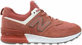 New Balance 574 Sport Dusted Peach/White MS574STP Men's Size 9.5 - $99.00