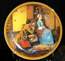 """1987 """"Portrait for a Bridegroom""""  by Norman Rockwell AA20-CP2274 Vintage"""