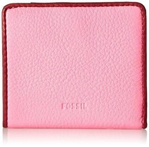 NWT Fossil Emma Mini Wallet, Neon Pink - $25.74