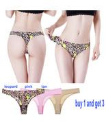 Women's Invisible Bikini Thong Panties No Panty Line Breathable Seamless - $12.90
