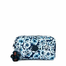 Kipling Gleam, Multi Use Pouch, Zip Closure, roaming roses - $35.96