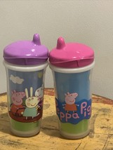 Playtex Sipsters Peppa Pig 9 Oz. Stage 3 Spout Sippy Cup - $8.59