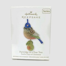 2011 Hallmark Partridge In A Pear Tree 1st First In Series Ornament New 4601-05 - $46.71
