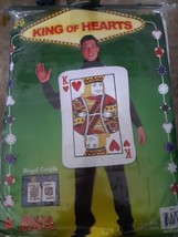 King Of Hearts Costume One Size Fits Most Rasta Imposta Cosplay Halloween Unisex - $24.70