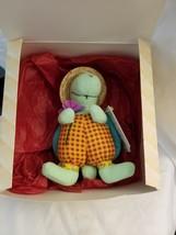 "Hallmark StoryBook Friends 8"" Trevor Turtle Plush Stuffed Animal  - $4.90"
