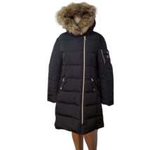 Vince Camuto Womens Faux-Fur-Trim Hooded Puffer Coat Water-resistant Pol... - $87.99
