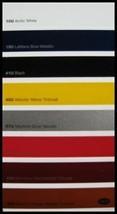 2007 Chevy Corvette Exterior Color & Trim Paint Chip Brochure Xlnt Z06 O... - $9.97