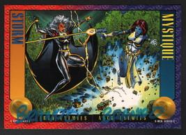 '93 SkyBox Marvel X-Men II Art 2 Card Set SIGNED Brandon Peterson STORM ... - $19.79
