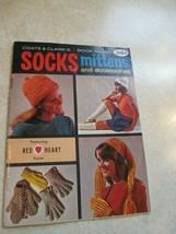 Coats & Clark  Book No. 192 Socks ,Mittens Accessories. - $7.91